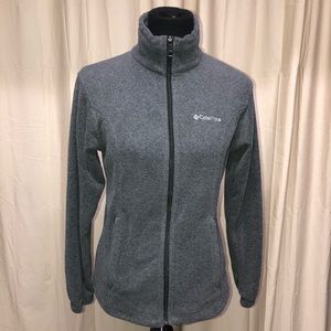 COLUMBIA FLEECE JACKET LADIES SIZE SMALL